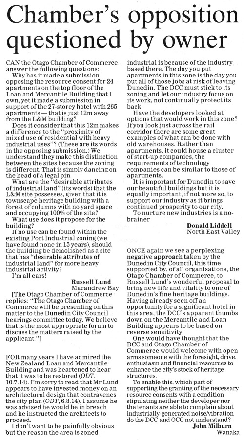 ODT 19.8.14 Letters to the editor Lund Liddell Milburn p6.jpg