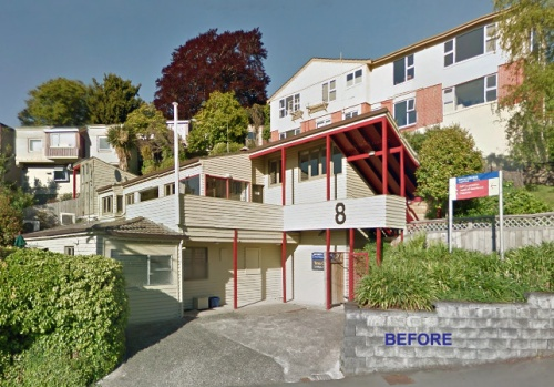 Toroa College, 8 Regent Road - before redevelopment [Google Streetview]