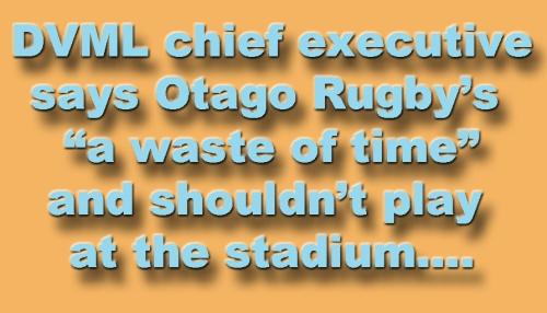 DVML Otago Rugby waste