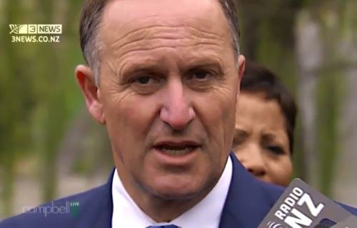 Email via Campbell Live 15.9.14 - John Key [screenshot]