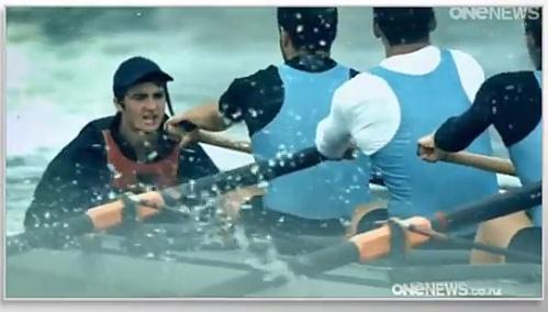 John Oliver on NZ Election (ONEnews samples National ad with Eminem audio) 1