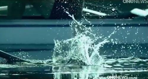 John Oliver on NZ Election (ONEnews samples National ad with Eminem audio)