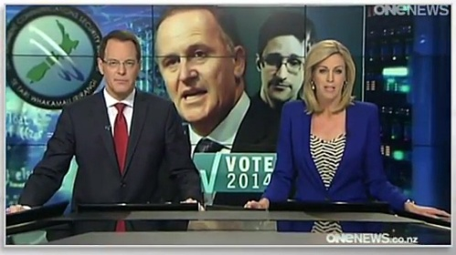 John Oliver on NZ Election (ONEnews)