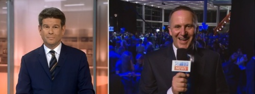 TV3 Vote 2014 John Campbell and John Key PM (screenshot 1031)