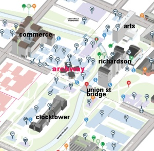 Campus Map (detail 1)