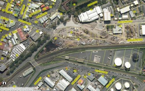 DCC Webmap (Anzac Avenue 2006-07)