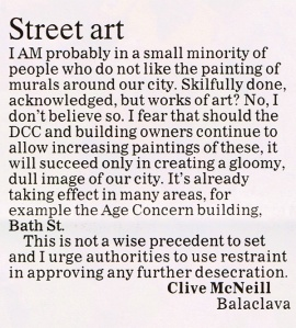 ODT 17.10.14 Letter to the editor McNeill p14