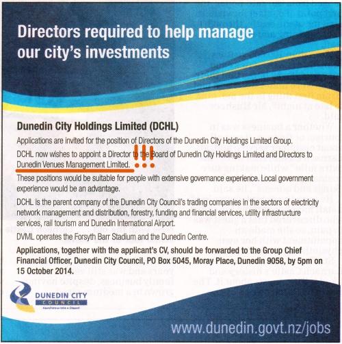 ODT 4.10.14 DCHL directors advert p21
