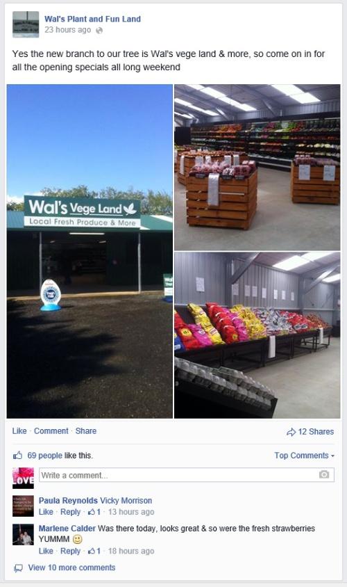 Wal's vege land