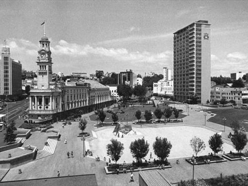 Aotea Square 1981 [heritageetal.blogspot.com] 1