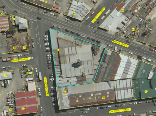 Bradken Resources Pty Ltd - 2 Tewsley St [DCC Webmap]
