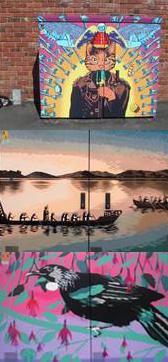 Chorus cabinet art Dunedin