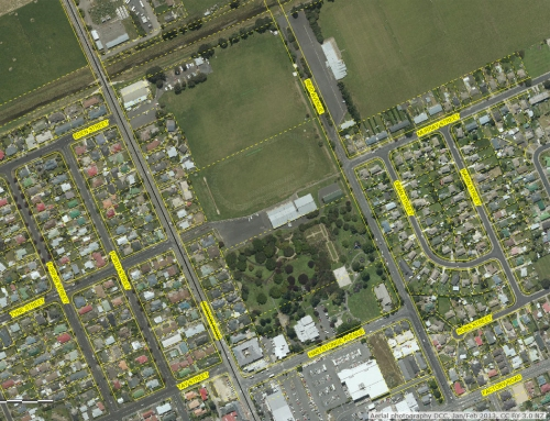 DCC Webmap - Mosgiel Memorial Park and surrounds (JanFeb2013) 1b