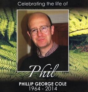 Phillip George (Phil) Cole 1964 - 2014