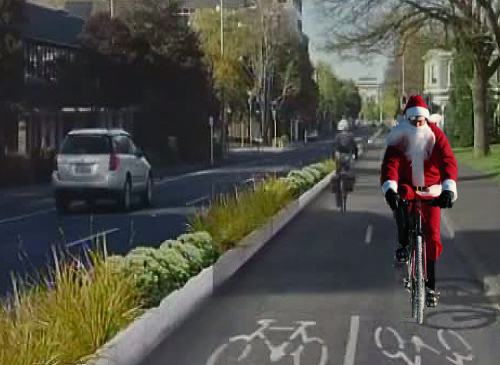 Santa [cycle-lane-2-copy1]