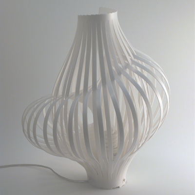 blog.2modern.com Tokyo Design Week - Spiral Lamp by Chris Kirby 1