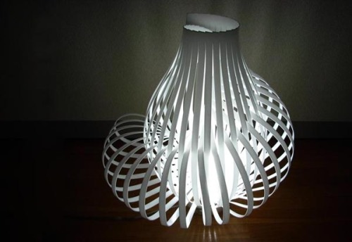 blog.2modern.com Tokyo Design Week - Spiral Lamp by Chris Kirby 3