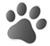 Dog paw print bw [clipartbest.com]