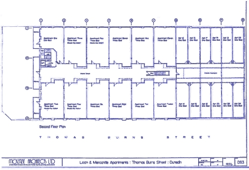 LM Building consented second floor plan