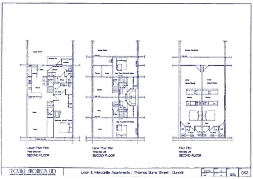 LM Building consented upper floor plans