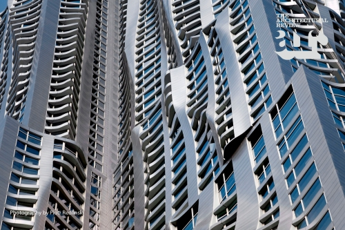 New York by Gehry. Photo by Piotr Redlinski [via architectural-review.com]