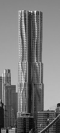New York by Gehry [via wikipedia] BW