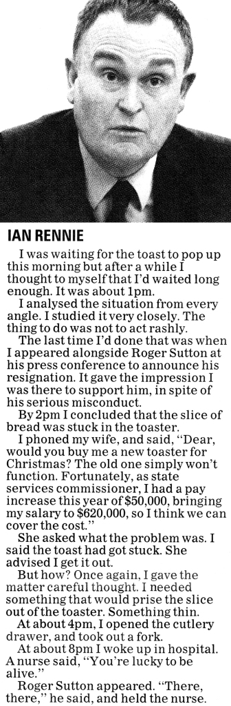 ODT 13.12.14 Steve Braunias The Secret Diary of ... Christmas p2 (edit)