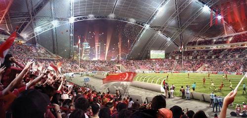 Singapore National Stadium - interior [via dragages.com]