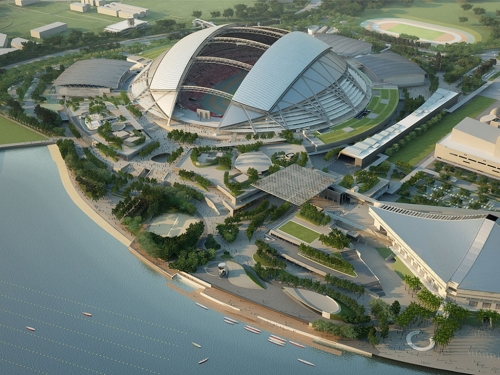 Singapore National Stadium - Sports-Hub-Day-View [via expatliving.sg]