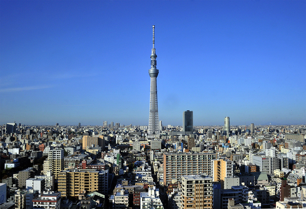 Tokyo Skytree Town Projection Mapping 2014  What if ...