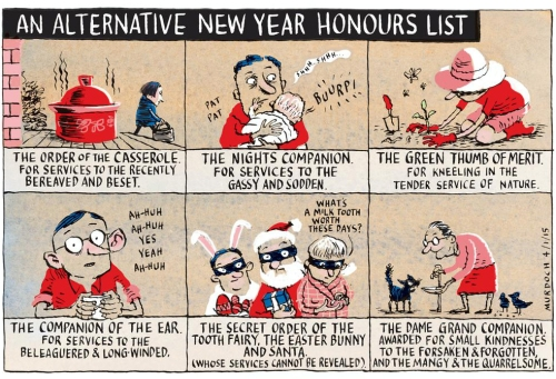 Cartoon - Sharon Murdoch New Years Honours List (SST 4.1.15) B6c7s5wCcAAR2fJ