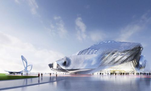 Dalian International Conference Centre, China 3