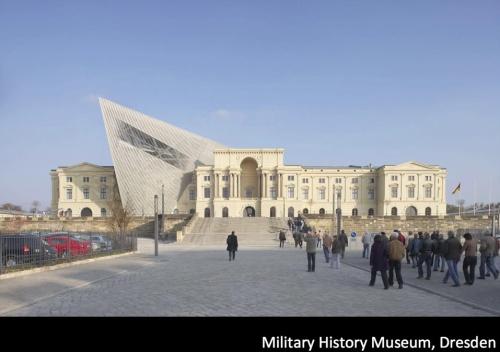 Daniel Libeskind. Military History Museum, Dresden 2