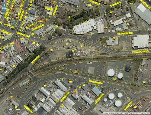 DCC Webmap - Anzac Avenue