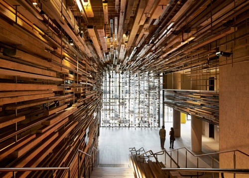 Dezeen Lobby by March Studio, Nishi Building, Canberra 4