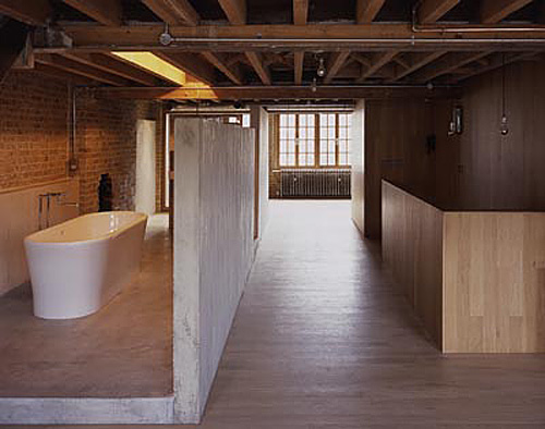DowJonesArchitects Lant Street warehouse conversion, Southwark, London [architecturetoday.co.uk]