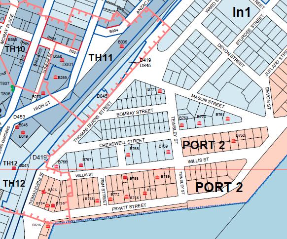 Industrial 1 zone What if Dunedin