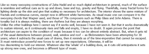 Jencks - Architecture Becomes Music. 6 May 2013 - Architectural Review 4a