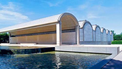 Kimbell - Kahn Pavilion 1 [texasmonthly.com]