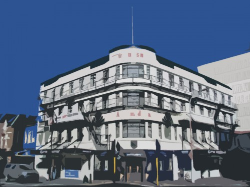 Law Courts Hotel, Dunedin [wikimedia.org] 3
