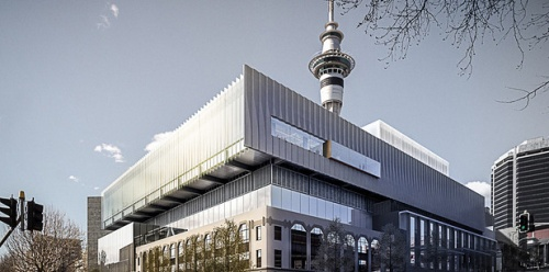 SkyCity National Convention Centre and Nelson House, cnr Nelson and Wellesley Sts [via nzherald.co.nz]