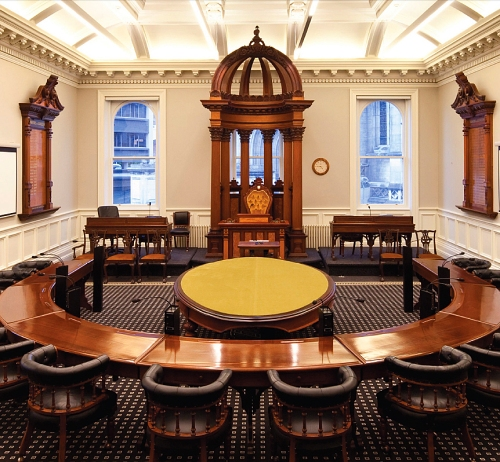 Council Chamber, Municipal Chambers, Dunedin [architecturenow.co.nz] 1