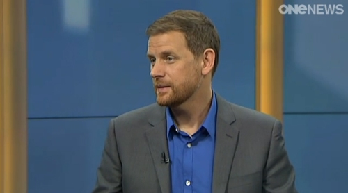 Charles Montgomery on Q+A TVI 12.4.15 - ONE NEWS [tvnz.co.nz]