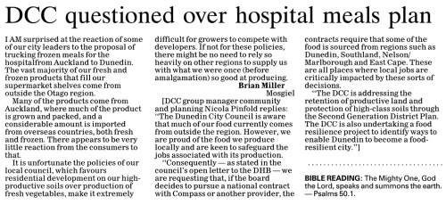 ODT 30.4.15 Letter to editor Miller (page 12) 1
