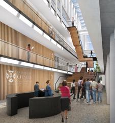 University of Otago - proposed dental school atrium