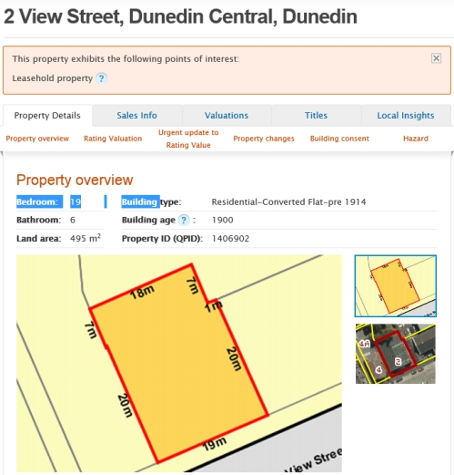 2 View Street Dunedin [qv.co.nz]