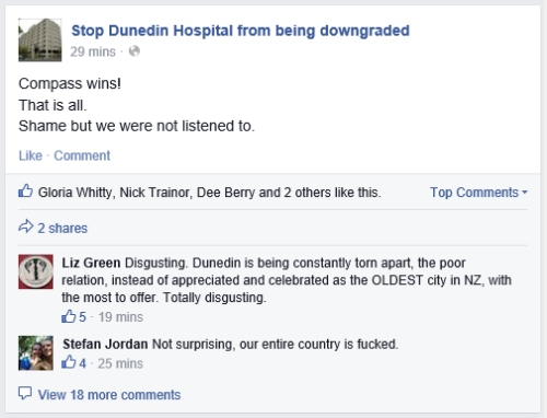 FB Stop Dunedin Hospital from being downgraded (detail 1)