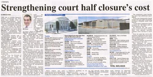 ODT 20.5.15 p11 Oamaru Courthouse 1a