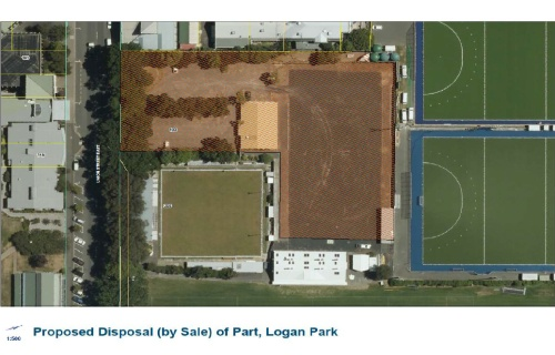 DCC - Proposed Disposal (by Sale) of Part, Logan Park [screenshot]