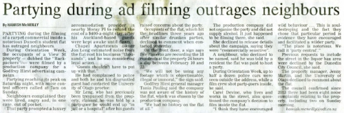 Retracted article, View St Backpackers - ODT (est. Mon 10.3.14). Supplied